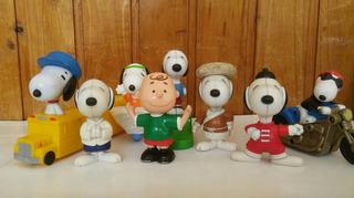 Lote #1 X8 Figuras Snoopy Mcdonald