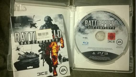 Jogo Game Ps3 Mídia Física Battlefield Bad Company 2