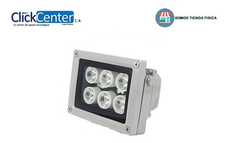 Lámpara 6 Mega-led C/fotocedula Intemperie