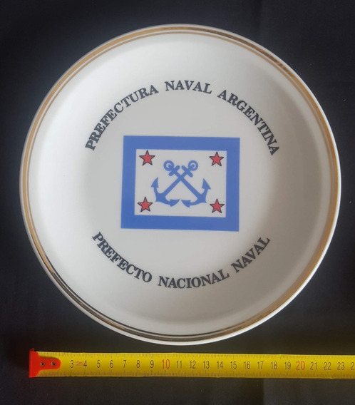 Plato Prefectura Naval Argentina Prefecto Nacional Naval