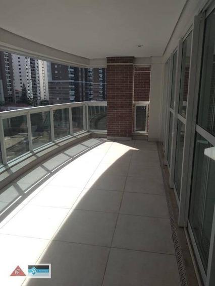 Apartamento Com 3 Dormitórios À Venda, 180 M² Por R$ 1.680.000 - Jardim Anália Franco - São Paulo/sp - Ap5776