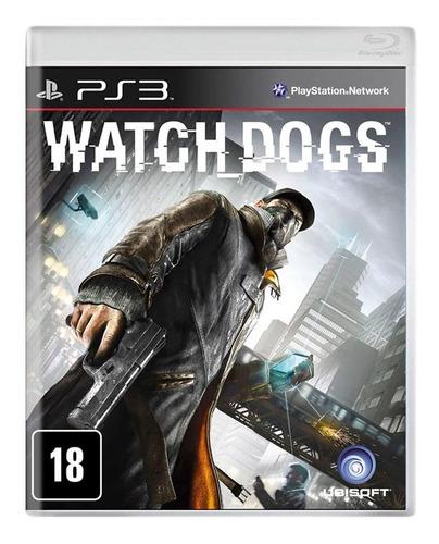 Watch Dogs 1 - Ps3 - Novo - Original - Midia Física