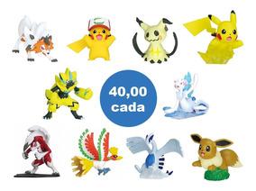 Boneco Pokemon Pikachu Lycanroc Eevee Lugia Hooh Takara Tomy
