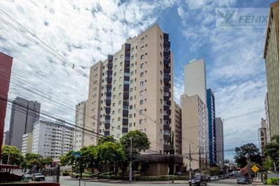 Apartamento Com 2 Dormitórios Para Alugar, 83 M² Por R$ 1.100/mês - Cristo Rei - Curitiba/pr - Ap0378