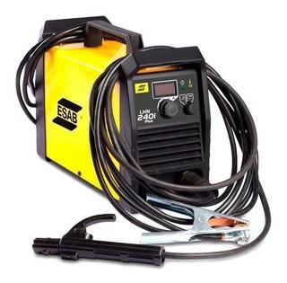 Maquina De Solda Inversora Esab Lhn 240i Plus 220vm Eletrodo