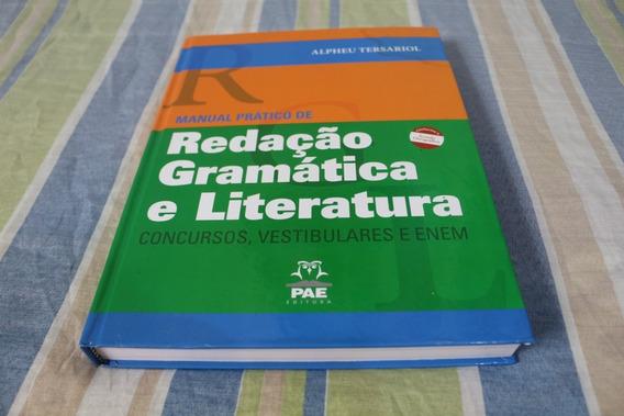 Manual Prático De Redação, Gramática E Literatura - Livro