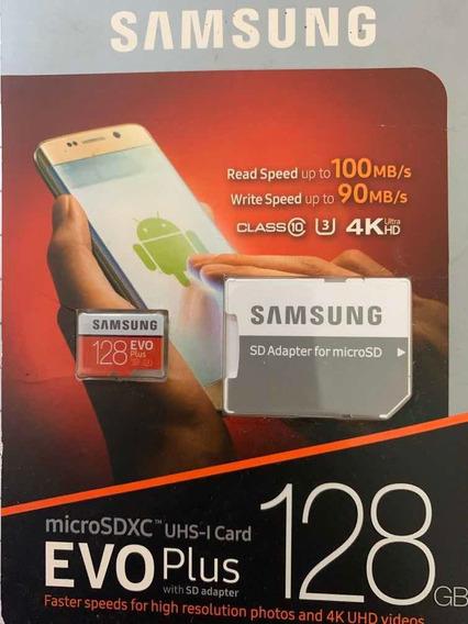 Samsung Evoplus 128 Gb Cartão De Memória Microsdxc