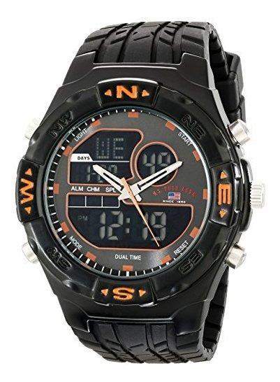 Polo Assn. Sport Us9059 Reloj Analógico Digital Para Hombre
