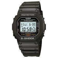 Relógio G-shock Casio Digital Quadrado Masculino Preto Dw-56