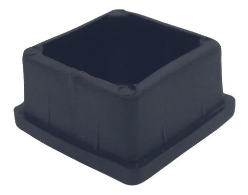 Imagen 1 de 4 de Regaton Plastico Interior Cuadrado 25x25 Capuchon X 10 Unid