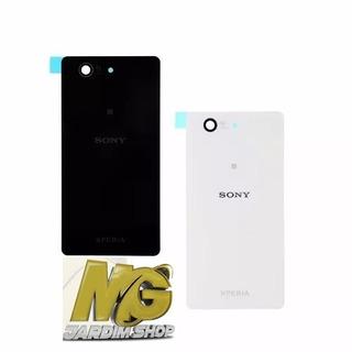 Tampa Traseira Vidro Compativel Sony Xperia Z3 Mini Branca