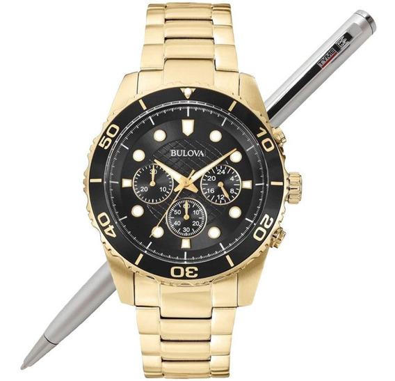 Relógio Bulova Masculino Wb31989u / 98a173 C/ Nf