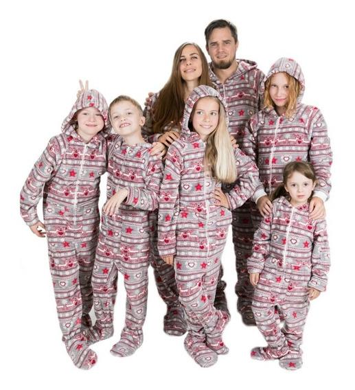 Pijama Macacão Soft Infantil Ou Adulto