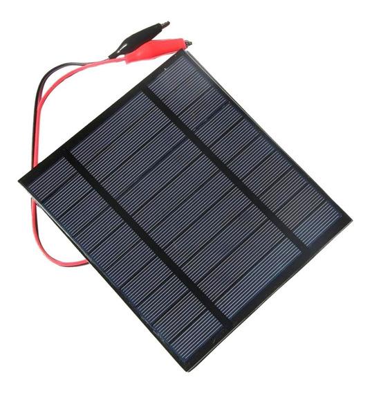 5v 2.5w Solar Pannel Bateria Carregador Com Carro Pequeno Ja