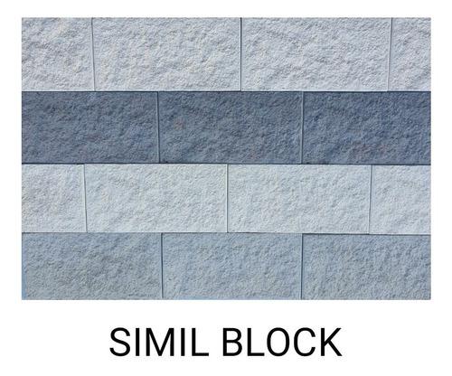 Imagen 1 de 5 de Cerámica Concreto Símil Bloque