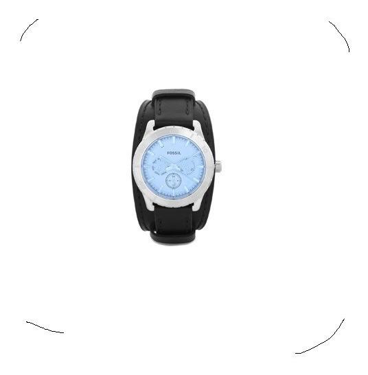 Promoção Black Week! Relógio Fossil Bq1649 Originalaço/couro