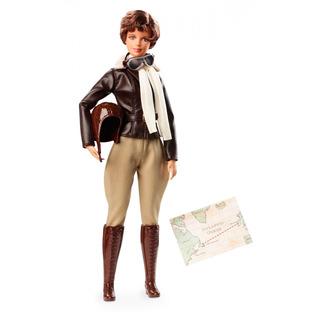 Muñeca Barbie Amelia Earhart Inspirando A La Mujer