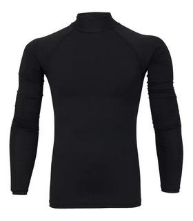 Camisa Masculina Térmica Praia Surfe Tecido C/ Proteção Uv