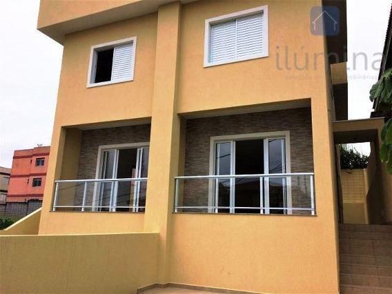 Lindo Sobrado Novo De 3 Dormitórios Em Cotia À Venda. - So0031