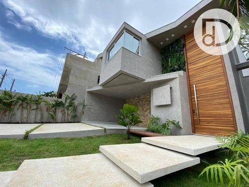 Imagem 1 de 23 de Casa Com 4 Dormitórios À Venda, 300 M² Por R$ 3.750.000 - Riviera De São Lourenço - Bertioga/sp - Ca4082