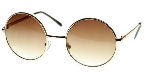 Óculos De Sol Redondo Vintage- Fashion - Hipster