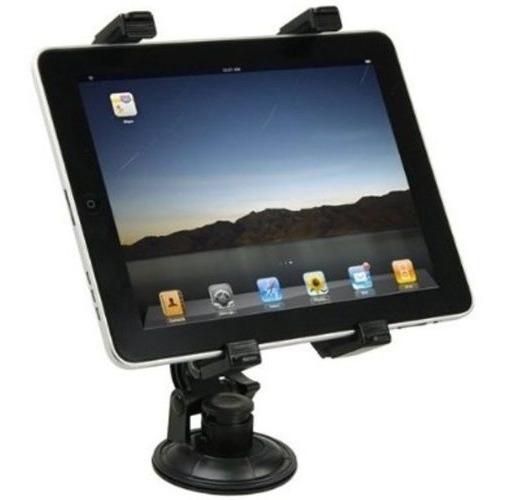 Suporte Veicular Universal Ventosa Vidro iPad Gps Tv Tablet