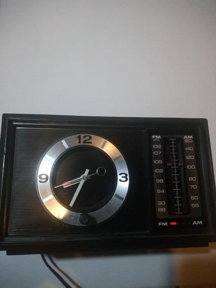 Reloj Radio Vintage Ge Modelo 7-4501