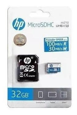 Cartão De Memoria Class10 Micro Sdhc 32 Gb C/adaptador Hfud0
