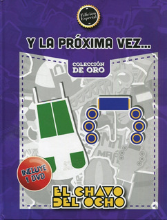 El Chavo Del Ocho. Libro + Dvd.