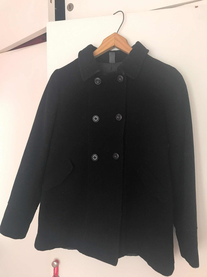 Sacon De Paño Negro Zara Talle 13/14 De Nena