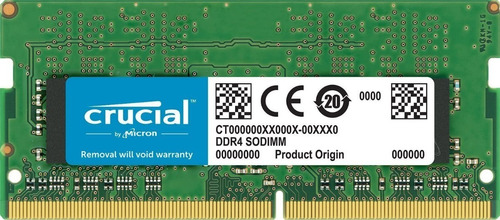 Crucial 16gb Ddr4-2400 Sodimm Memory For Mac Ct16g4s24am