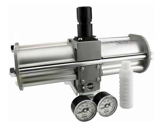 Multiplicador De Pressão Booster Pneumático Vba43a-f04gn