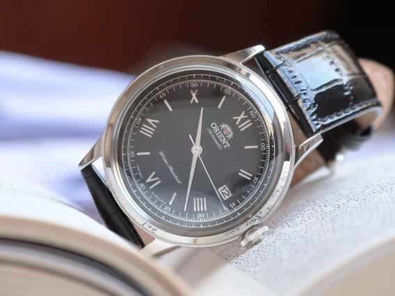 Relógio Orient Bambino Automático Fac0000ab0 G2 V2 Novo Comp