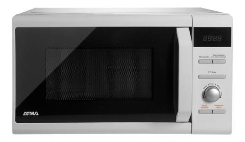Imagen 1 de 2 de Microondas Atma Easy Cook Md1720n Blanco 20l 220v