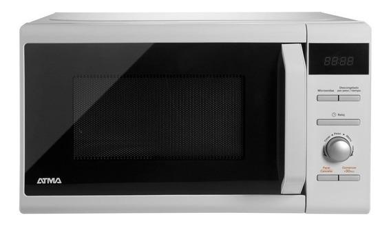 Microondas Atma Easy Cook Md1720n Blanco 20l Center Hogar