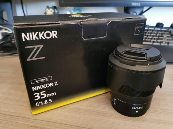 Nikon Nikkor Z 35mm F/1.8 S Lente