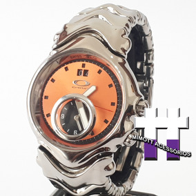Relógio Judge 2.0 Polished Dual Time Copper Dial Bracelete