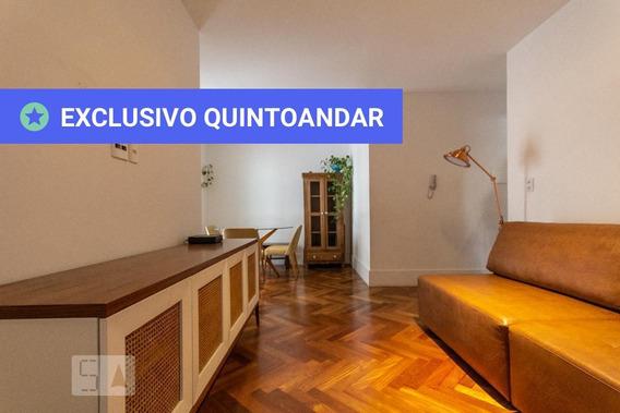 Apartamento No 4º Andar Com 2 Dormitórios E 2 Garagens - Id: 892995927 - 295927
