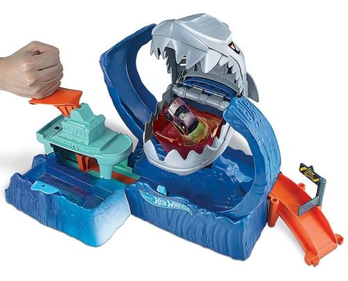 Hot Wheels - City Robo Tiburón Mattel Original