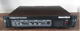 Cabeçote Hartke Lh500 Bass Amplifier 500 Watts