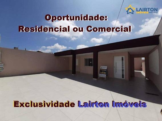 Oportunidade: Imóvel Residencial Ou Comercial À Venda No Alvinópolis, Atibaia Sp - Ca1928