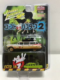Johnny Lightning Ghostbusters Cadillac Ecto 1a Dirty Version