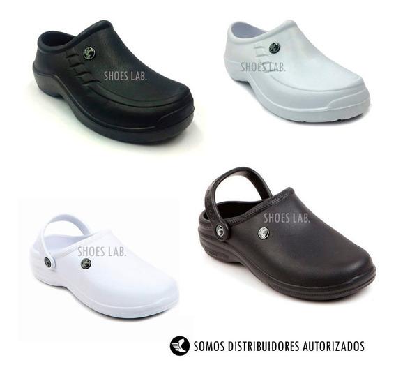 Zapatos Chefs Y Cocina Tipo Crocs Antideslizantes.