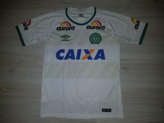 Camisa 2 De Jogo Da Chapecoense 2016 Umbro #10 Aurora Unimed