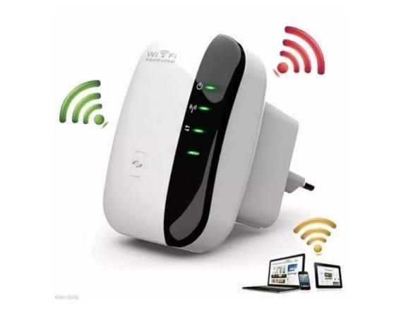 Repetidor Wifi Wireless 802.11n Wps 300mbps 1