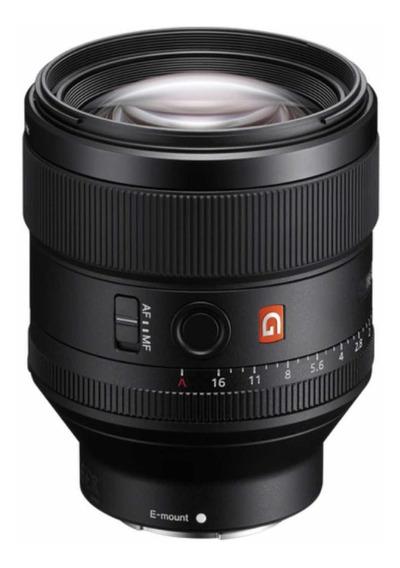 Lente Sony 85mm F1.4 G