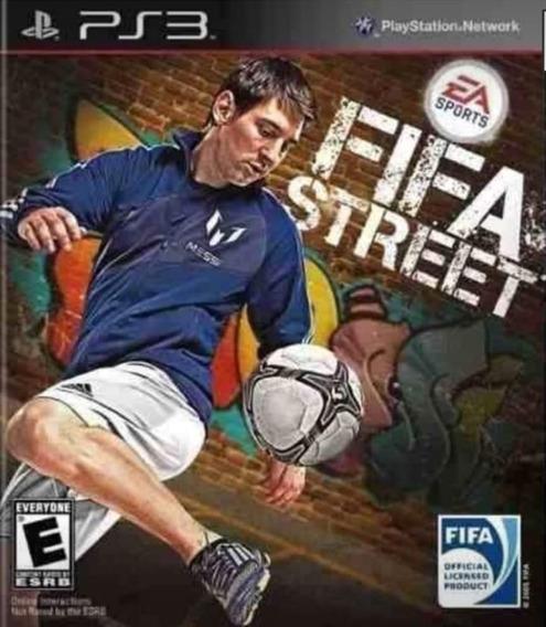 Fifa Street. Jogo Ps3 Em Oferta