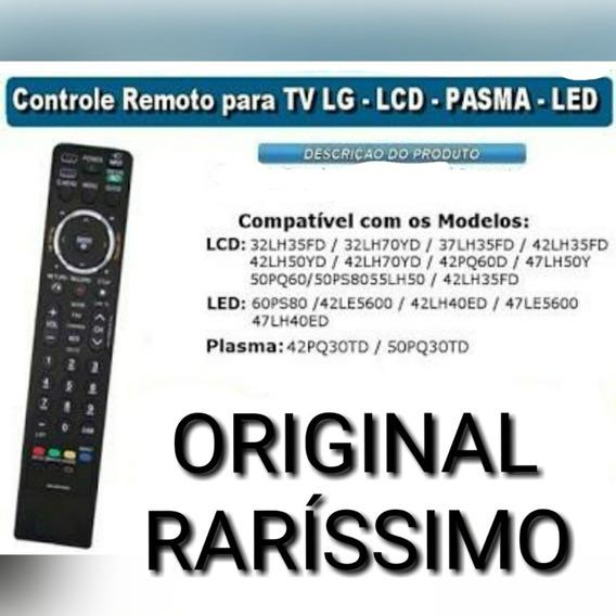 Controle Remoto Televisão Lcd/plasma/led Original Lg (usado