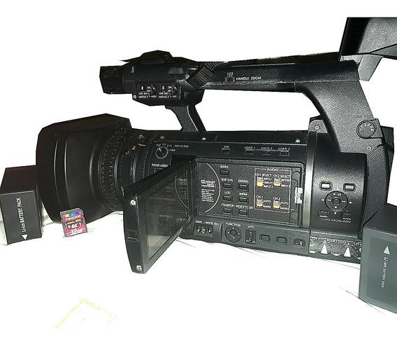 Filmadora Panasonic Ag-ac 130ap - 927 Horas De Uso