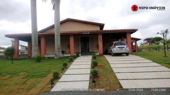 Casa Com 4 Dormitórios À Venda, 280 M² Por R$ 300.000 - Condomínio Ninho Verde - Porangaba/sp - Ca0234